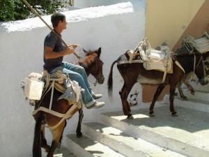 Greek Island traffic