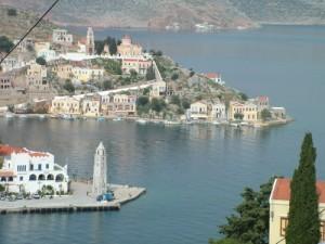 A view of Symi, Greece
