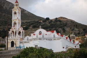 Symi island church