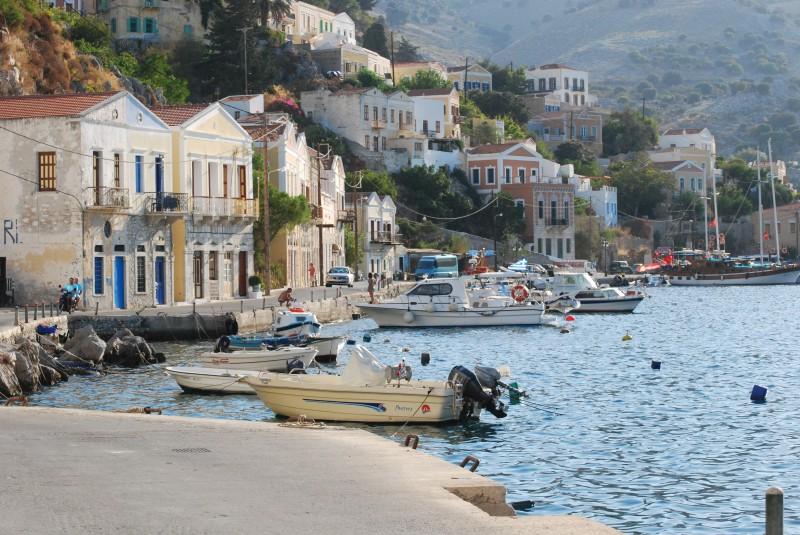 Symi, Dodedacanese, Greece.