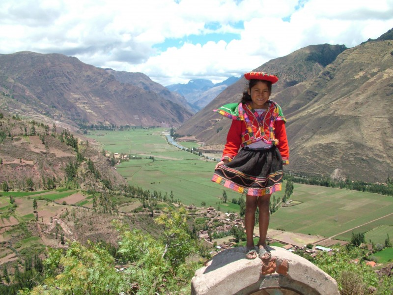 Sacred valley Peru.