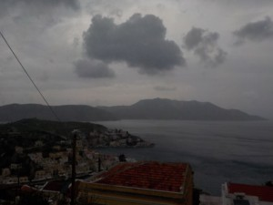 And this morning's Symi weather is...