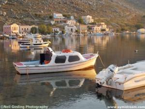 BBQ Niborio Symi Greece