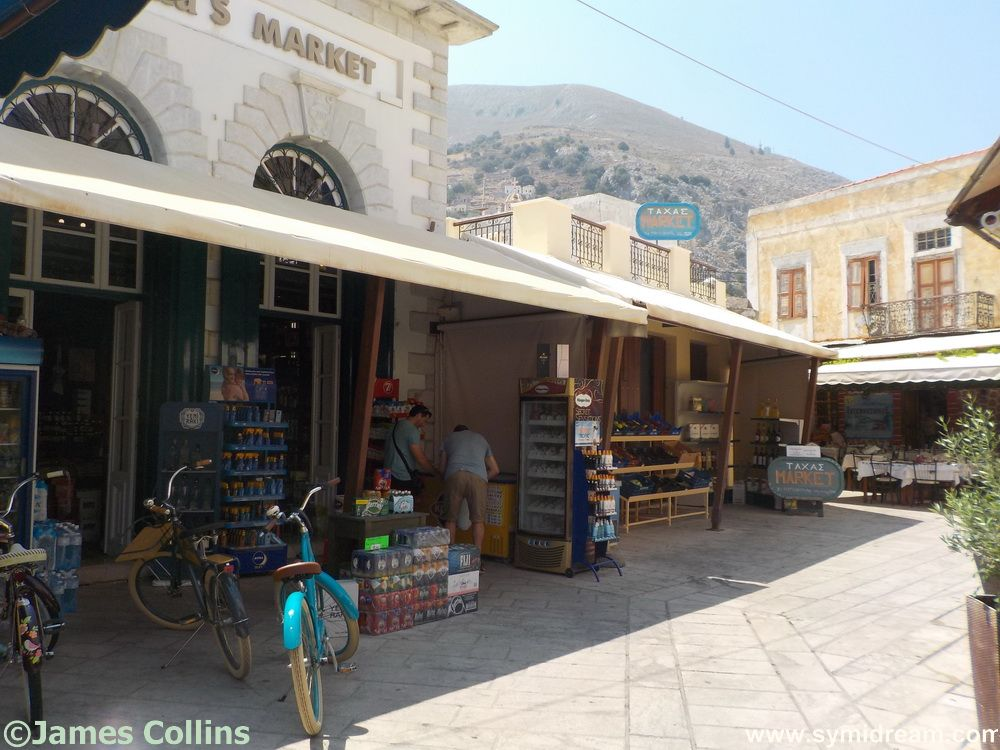 Shopping in Yialos