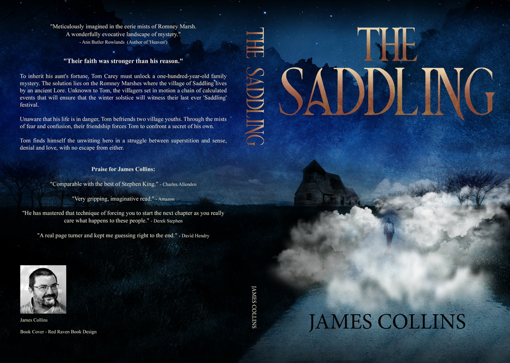 The Saddling, full cover design