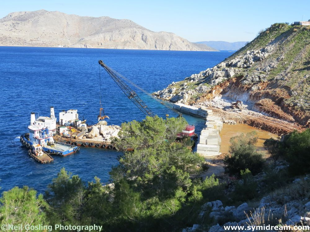 New Symi jetty