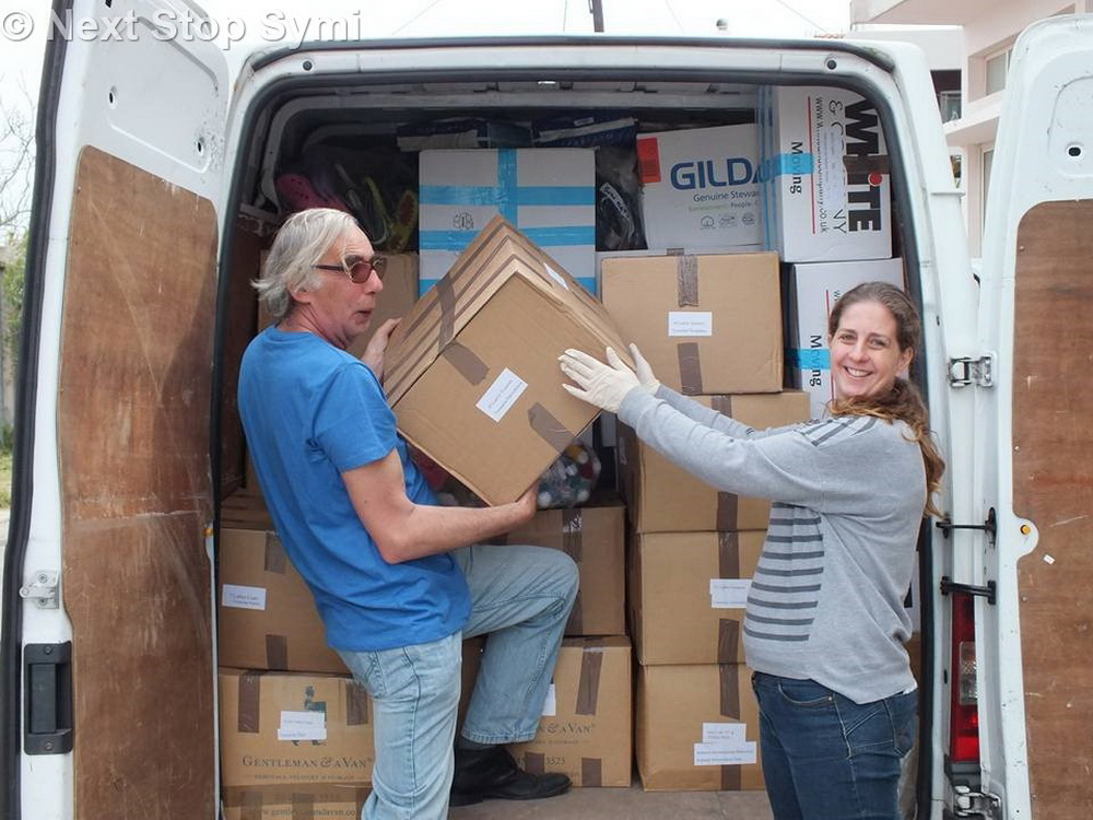 Unloading in Kos