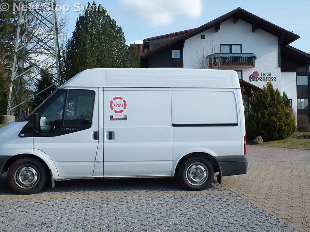 Hotel Car Park in Germany