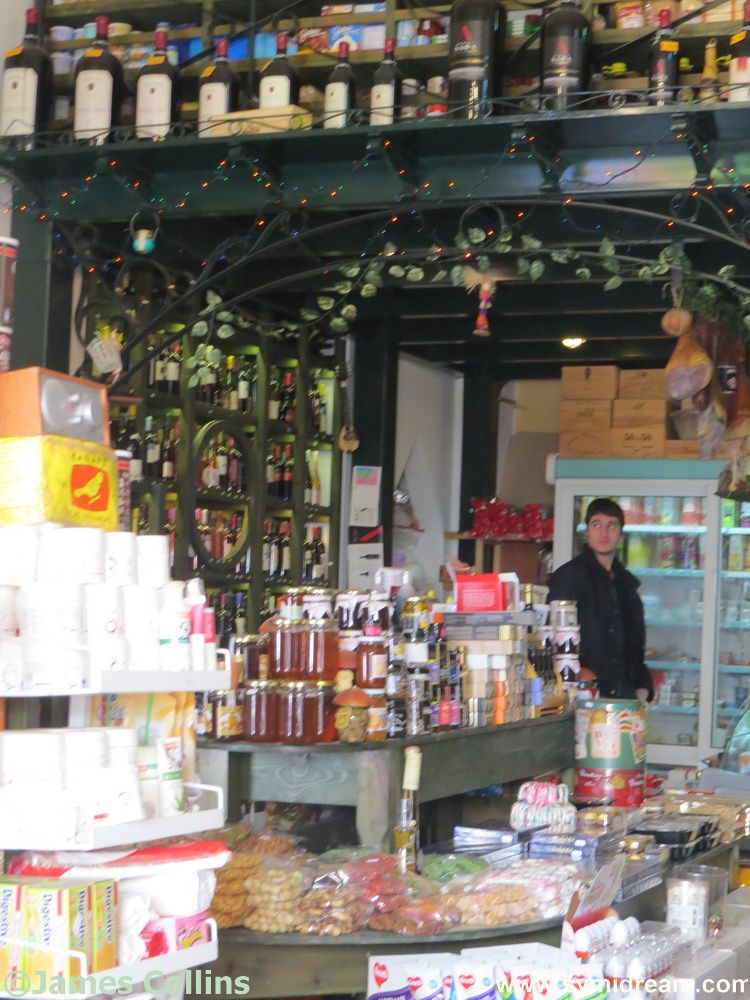 Georgina's delicatessen and wine shop