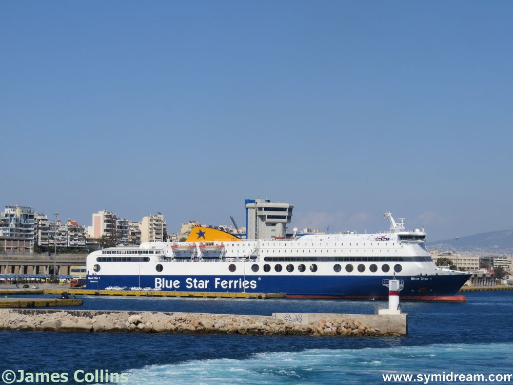 Leaving Piraeus