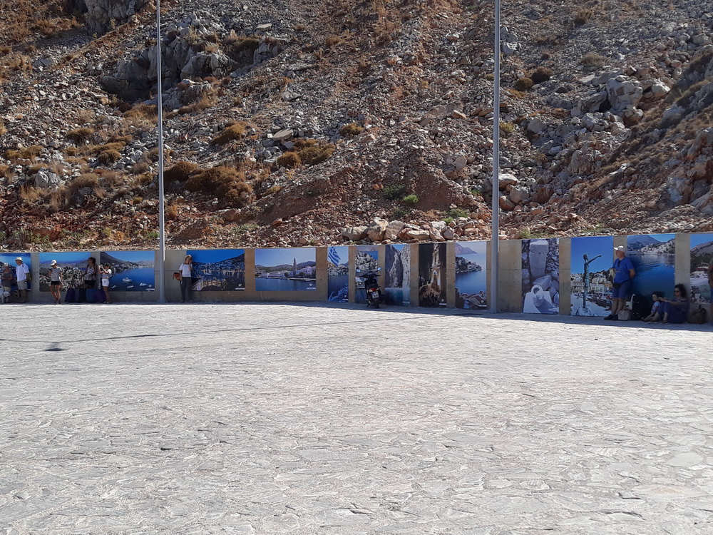 Some photos to look at while you wait for your boat on Symi.