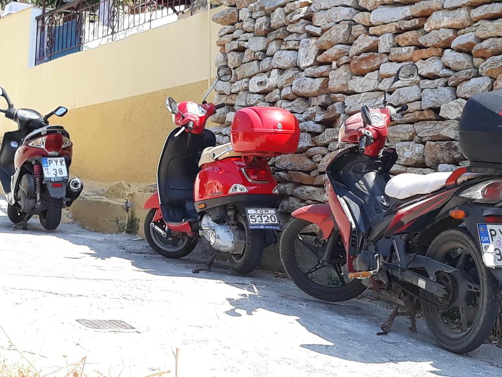 Ever popular mopeds