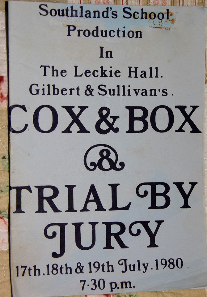 "In Trial By Jury, I was the Judge (I'm always the comedy relief) and Pete was the Defendant. Poor lad had to run on through the audience singing, ""Is this the court of the exchequer? Be firm! Be firm my pecker."" I wonder if they use that line these days? I don't remember anyone sniggering in 1980, but I was getting into a three piece suit, robes, wig, false beard and a large gin while he was doing it."