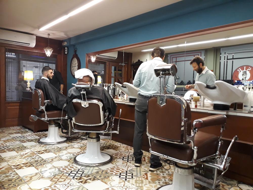 Proper barbering in Athens
