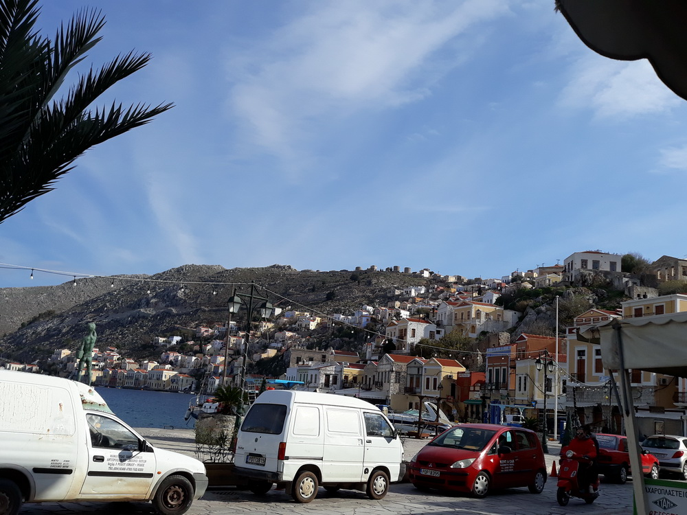 And Yialos on a sunnier day last week
