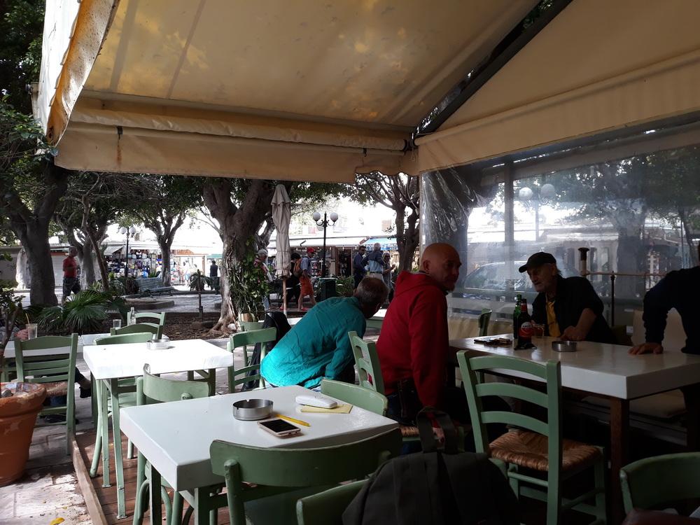 At the Symi Cafe, Mandraki