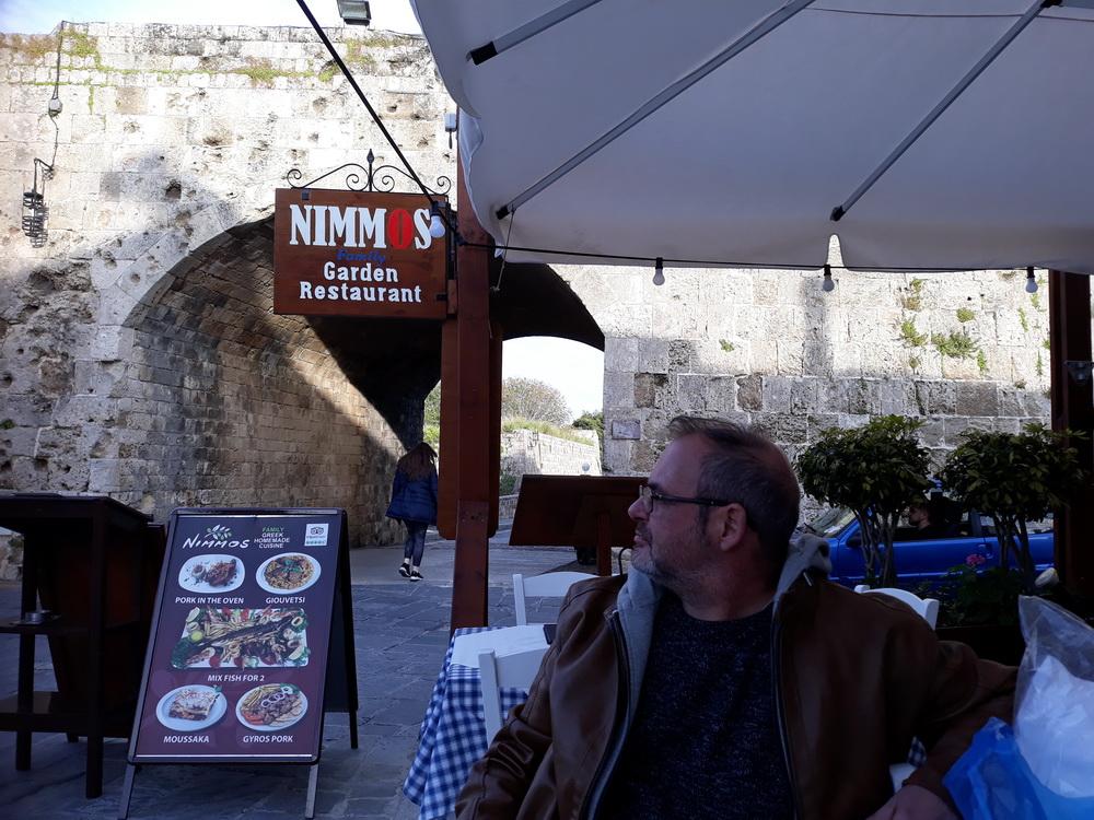 Nimmos, just inside Akandia Gate, Rhodes