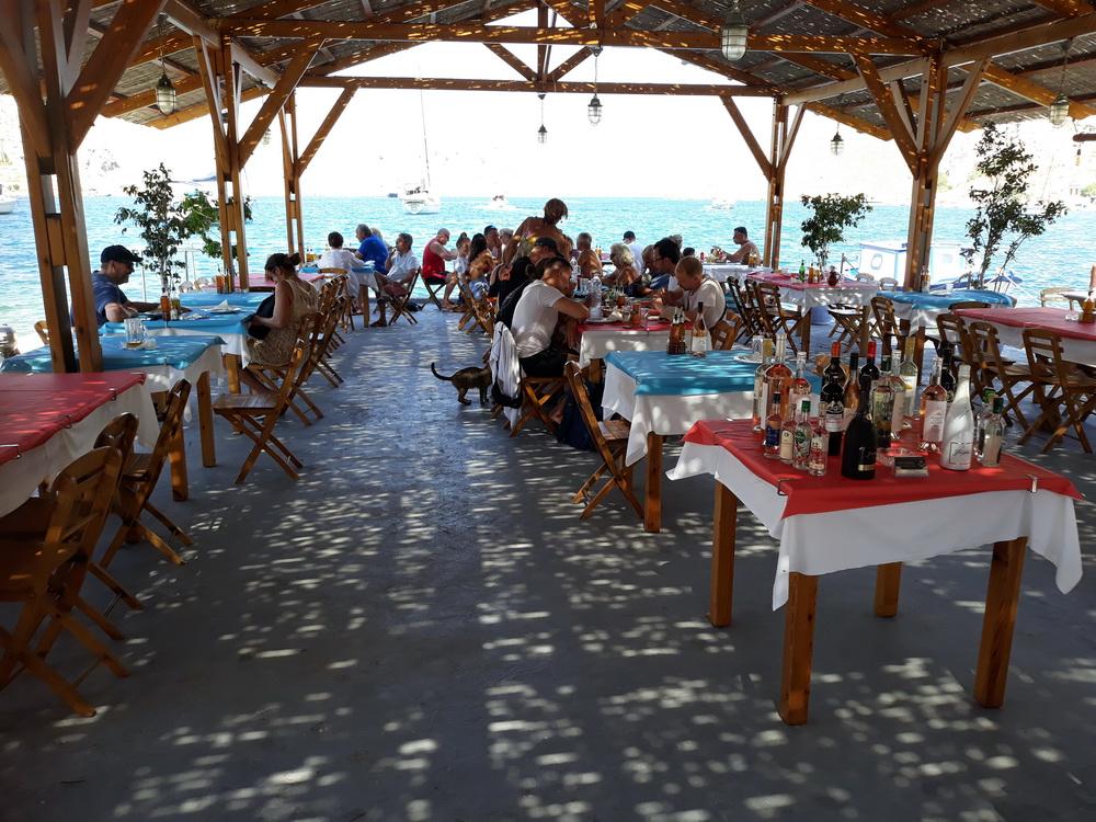 Lunch at Katsaras