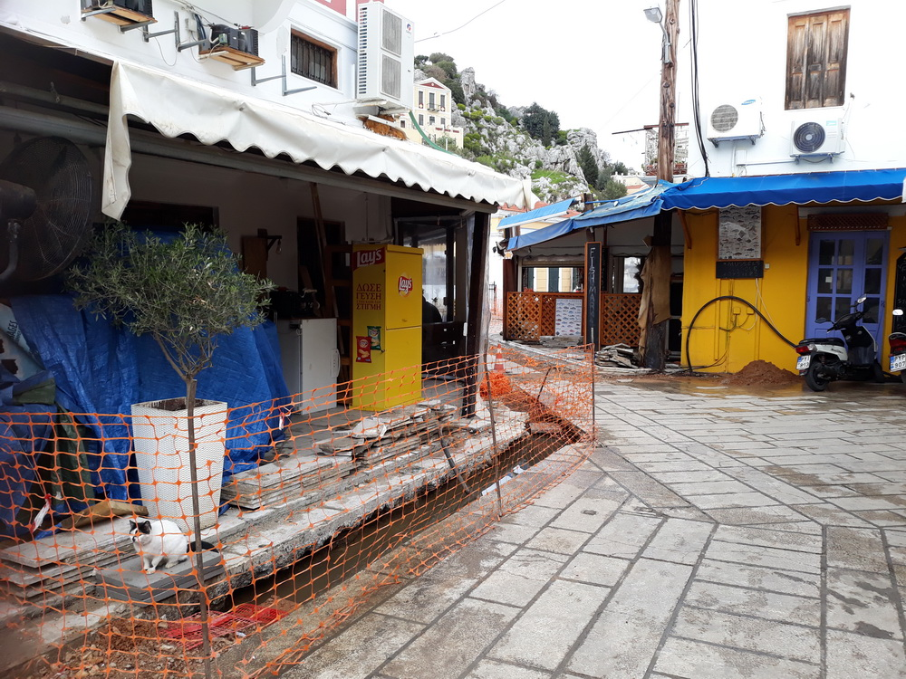 Repair and improvement works go on during winter