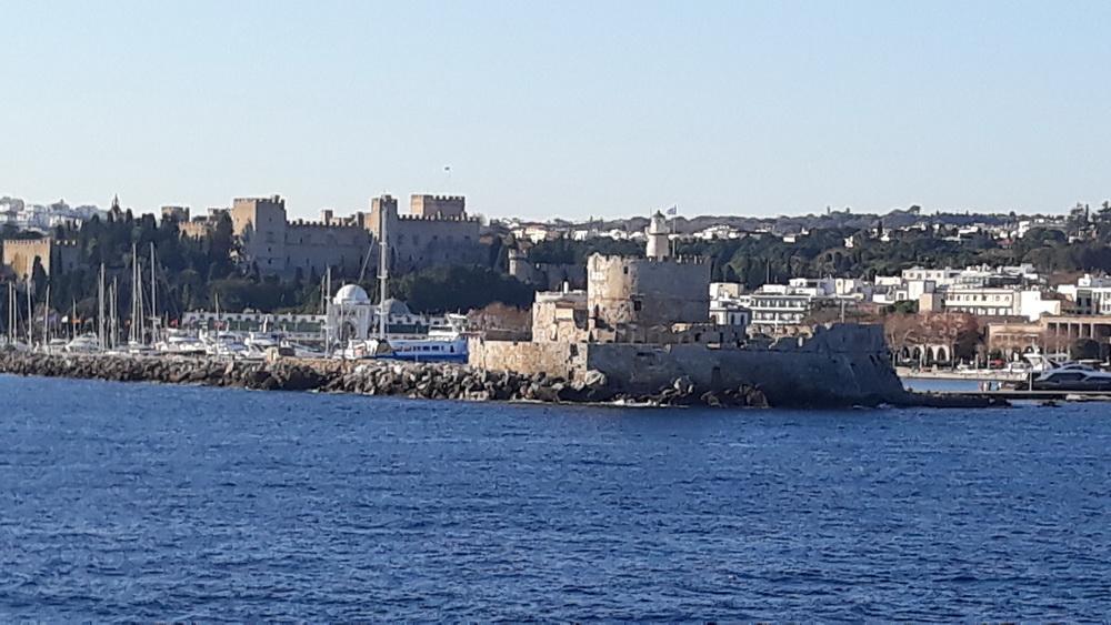 Approaching Rhodes