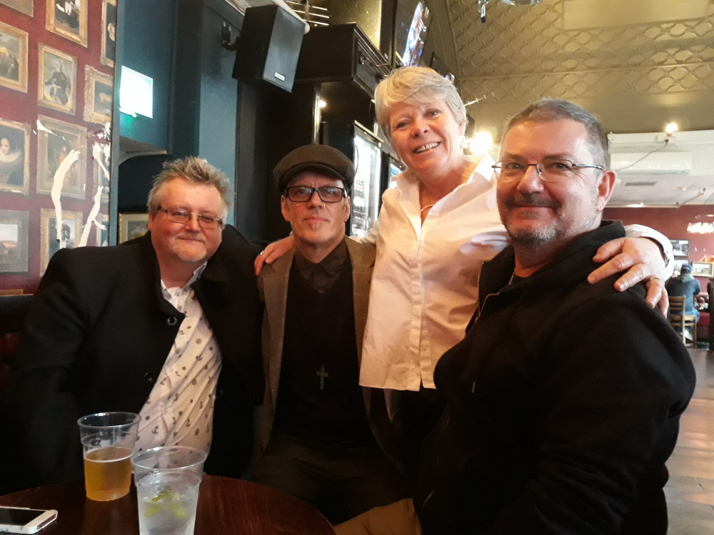 Simon, Andrew, Sall and I. Stalwarts of the Southland's Comp theatrical scene, 1977 to 1981.