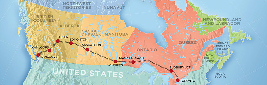 the-canadian route